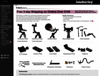 tripodhead.com screenshot