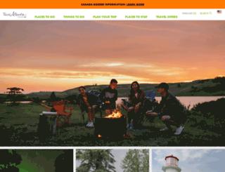 tripplanner.travelalberta.com screenshot