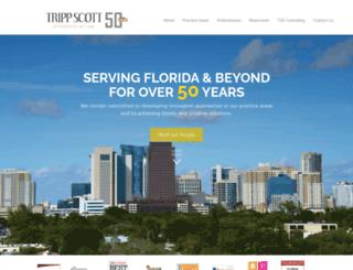 trippscott.com screenshot