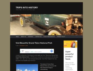 tripsintohistory.com screenshot
