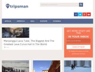 tripsman.info screenshot