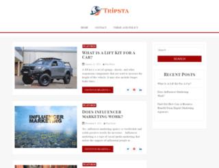 tripsta.com.au screenshot