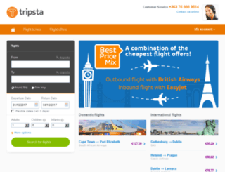 tripsta.ie screenshot