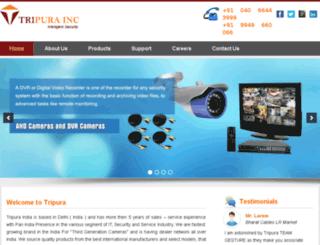 tripuracctv.com screenshot
