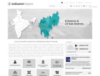 tripurastat.com screenshot
