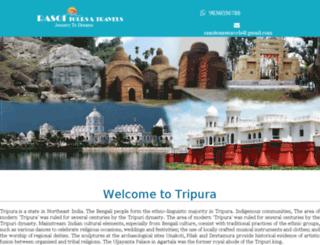 tripuratours.com screenshot