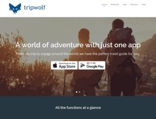 tripwolf.com screenshot