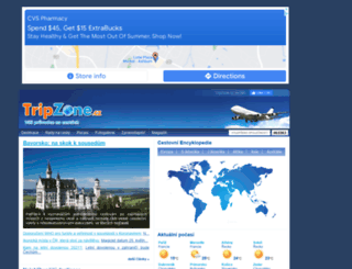 tripzone.cz screenshot