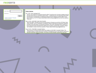 trisbdc.neoserra.com screenshot