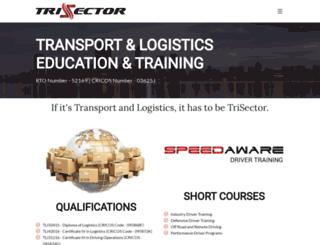 trisector.com.au screenshot