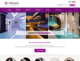trisha.co.in screenshot