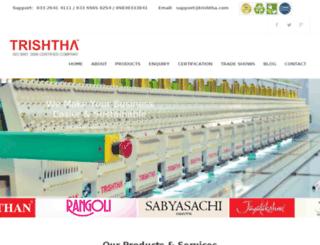 trishthacommercial.com screenshot
