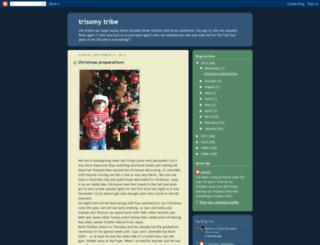 trisomytribe.blogspot.com screenshot