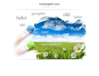 tristangillot.com screenshot