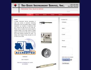 tristateinstrumentservice.com screenshot