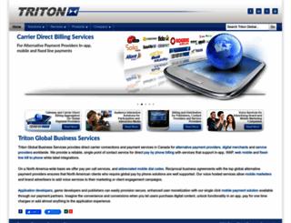 tritonglobal.ca screenshot