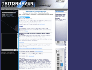 tritonhaven.com screenshot