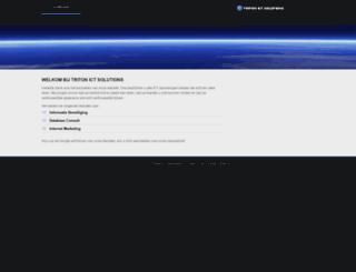 tritonict.com screenshot