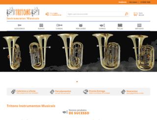 tritons.com.br screenshot