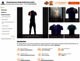 triumph-sportswear.com screenshot