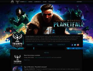 triumph.net screenshot