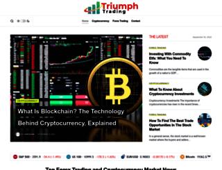 triumphattrading.com screenshot