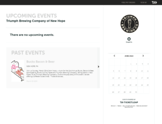 triumphbrewingnewhope.ticketleap.com screenshot