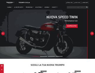 triumphsicilia.it screenshot