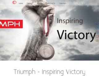 triumphsporting.com screenshot