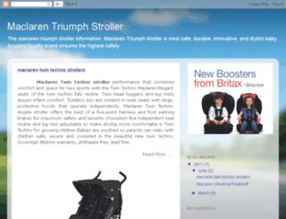 triumphstroller.blogspot.com screenshot
