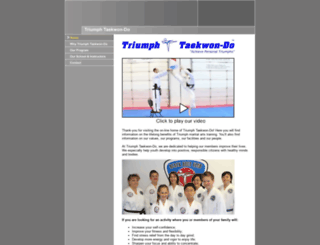 triumphtkd.com screenshot