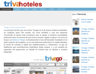 trivagohoteles.org screenshot