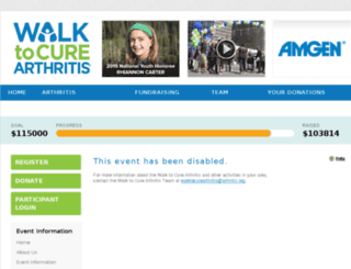 trivalleyarthritiswalk.kintera.org screenshot