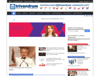 trivandrum.co.in screenshot