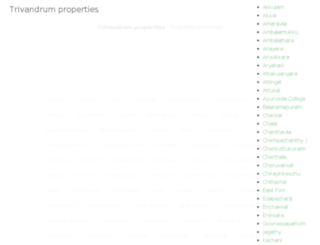 trivandrumproperties.org screenshot