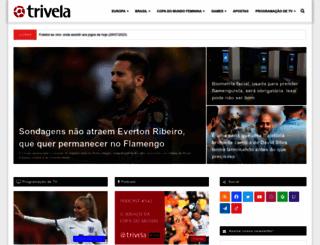 trivela.com.br screenshot