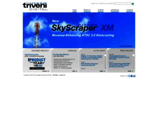 trivenidigital.com screenshot