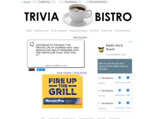 triviabistro.com screenshot