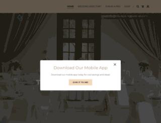 triweddingcentral.com screenshot
