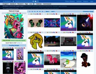 trixiebooru.org screenshot