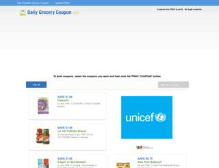 trk.dailygrocerycoupon.com screenshot