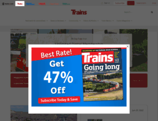 trn.trains.com screenshot