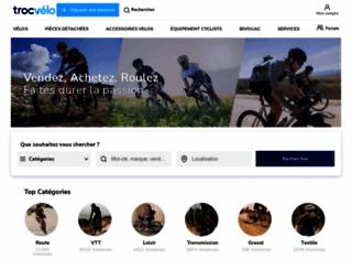 troc-velo.com screenshot