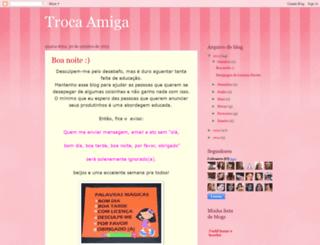 trocaamiga.blogspot.com screenshot