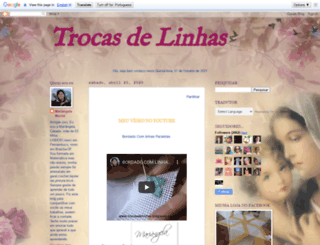 trocasdelinhas.blogspot.com.br screenshot
