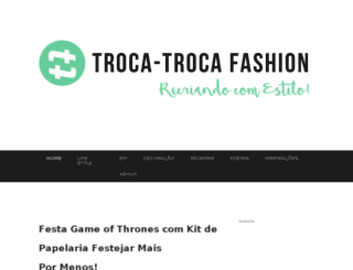 trocatrocafashion.com.br screenshot