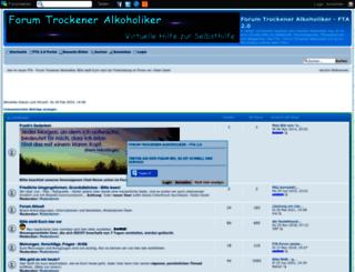 trockeneralkoholiker.forumieren.com screenshot