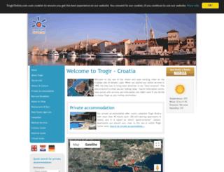 trogir-online.com screenshot