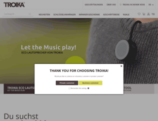 troika.de screenshot