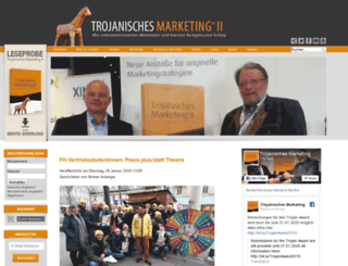 trojanischesmarketing.com screenshot